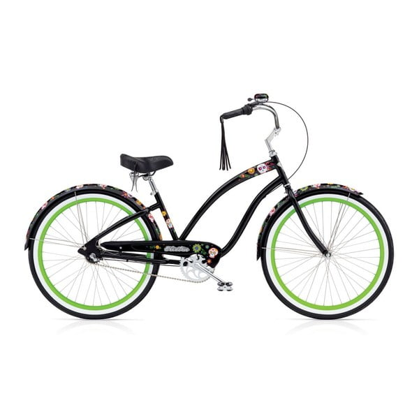 Dámsky bicykel Sugar Skulls 3i Black