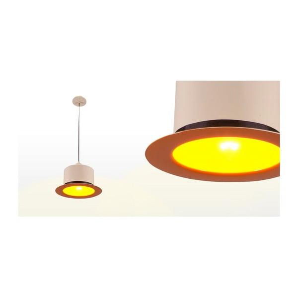Stropné svetlo Hat Cream/Orange