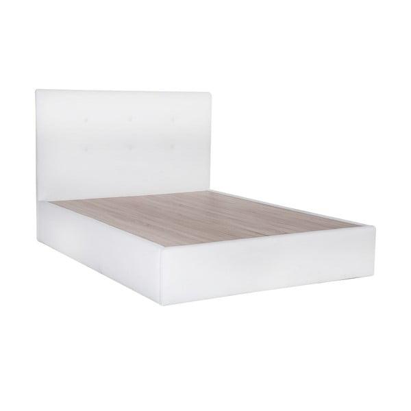 Posteľ Mousse 160x200 cm, biela