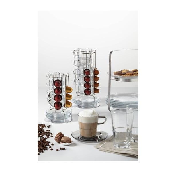 9-dielny set na kávu so stojanom LEONARDO SENSO