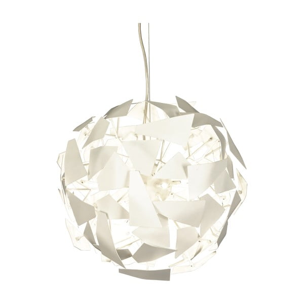Biele závesné svietidlo Scan Lamps Split