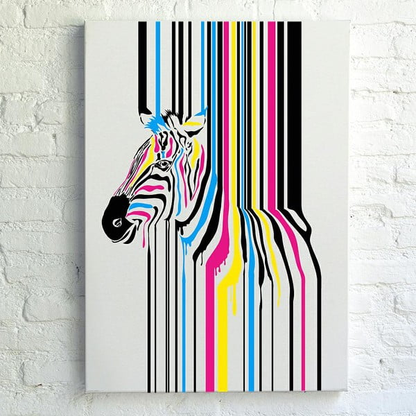 Obraz Really Nice Things Zebra Fusion, 50 x 70 cm