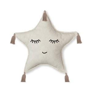 Dekoratívny vankúš Little Nice Things Happy Star