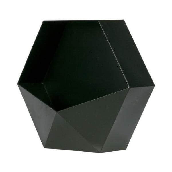 Čierna kovová nástenná dekorácia De Eekhoorn, 45 x 39 cm