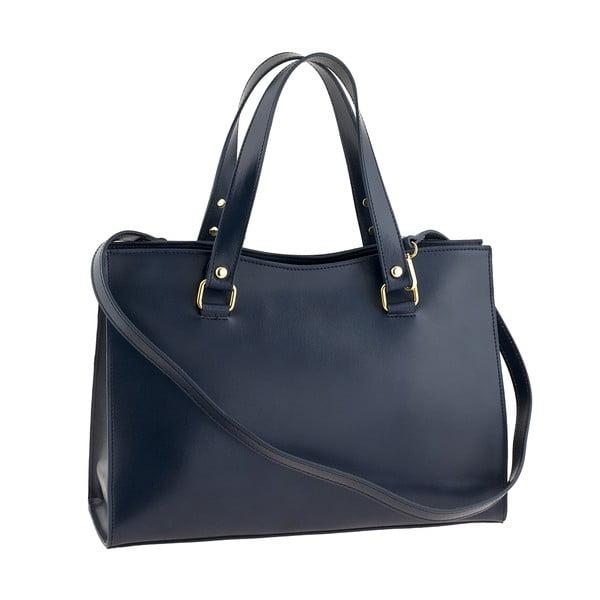 Modrá kožená kabelka Ore Diece Frosinone