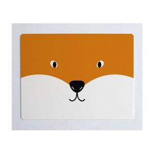 Podložka na stôl Little Nice Things Fox, 55 x 35 cm