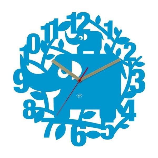 Nástenné hodiny Ellie Elephant, 34 cm
