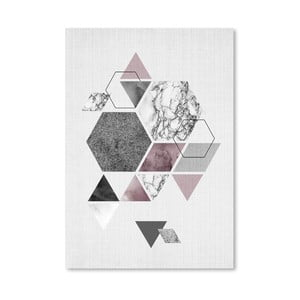 Plagát Geometric Hexagons