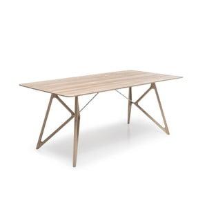 Dubový jedálenský stôl Tink Oak Gazzda, 160cm, prírodný svetlý