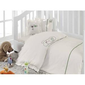 Detské obliečky Organic Baby Creamy, 100x150 cm