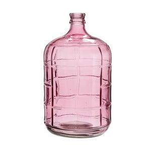 Demižón/váza Glass Pink, 24x42 cm