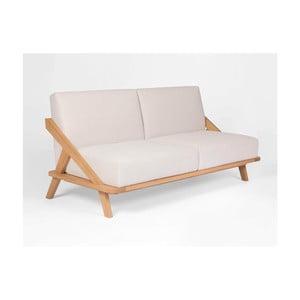 Sofa z dubového dreva Ellenberger design Nordic Space
