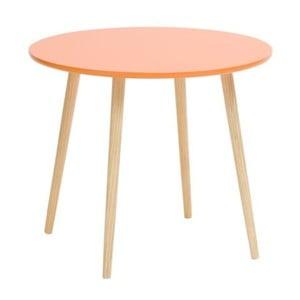 Oranžový príručný stolík Mauro Ferretti Da Caffe
