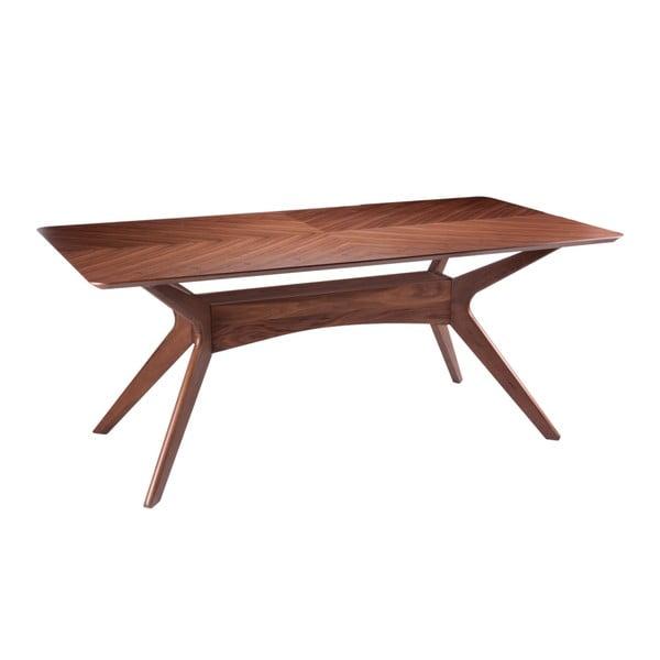 Jedálenský stôl vdekore orechového dreva sømcasa Helga, 180×95cm