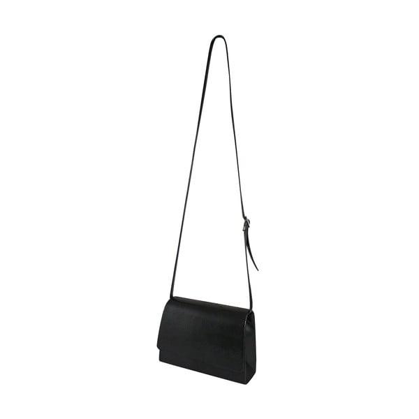 Kožená kabelka/listová kabelka  Boscollo Black 2946