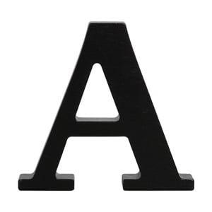 Čierne drevené písmeno Typoland A