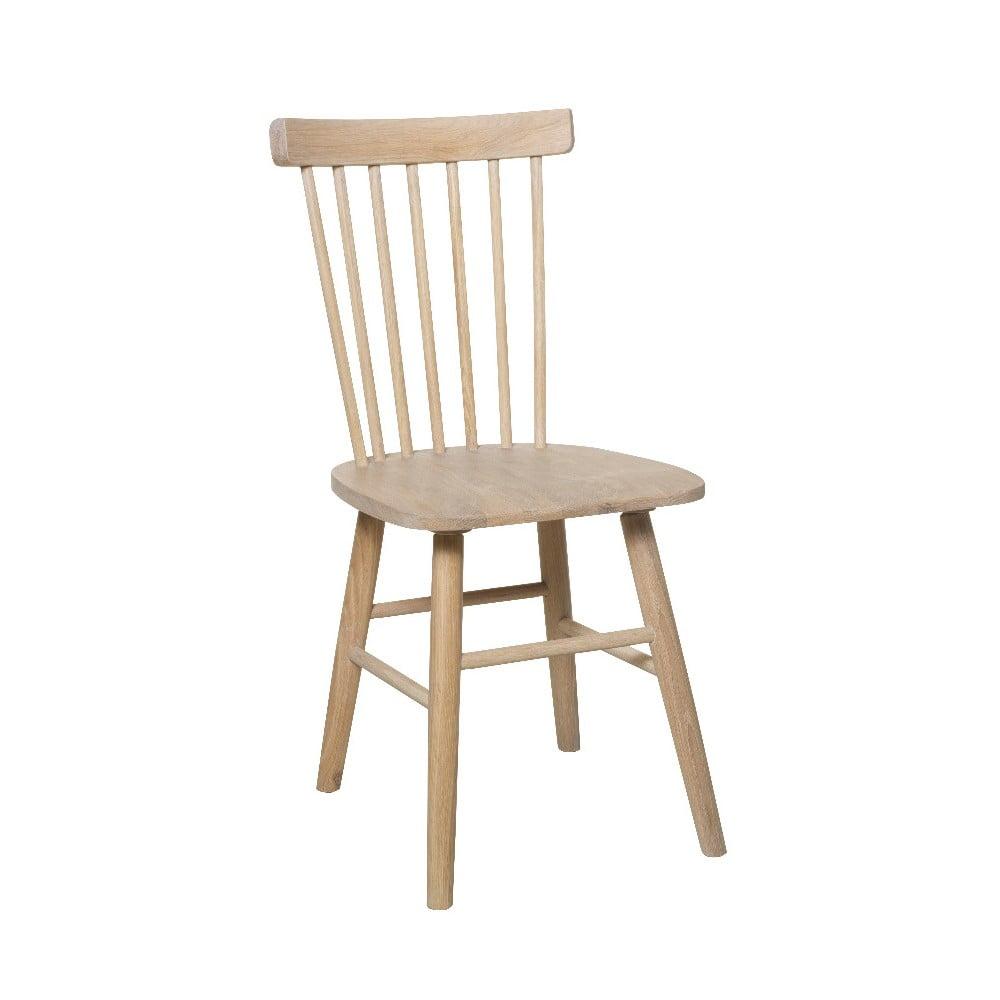 Svetlohnedá jedálenská stolička z brezy Folke Disco