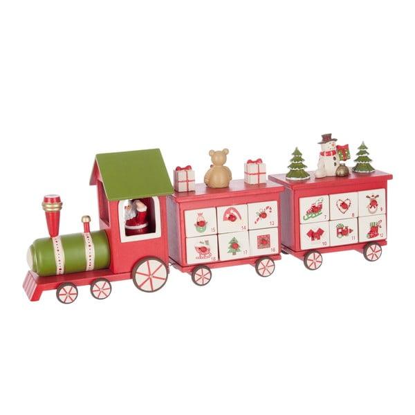 Adventný kalendár Red Train
