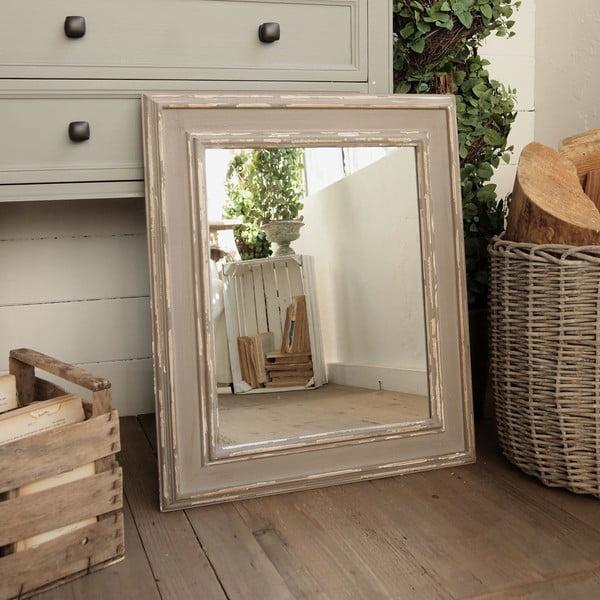 Zrkadlo Shabby Grey Antique
