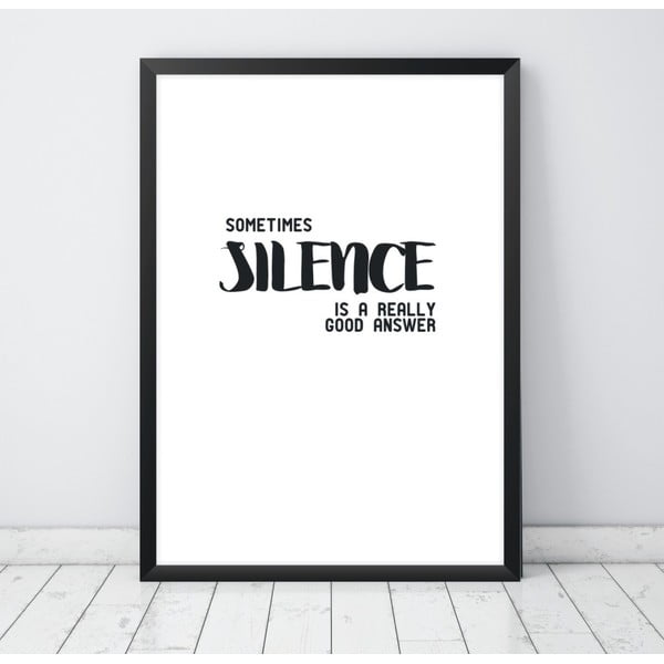 Plagát Nord & Co Silence, 40 x 50 cm