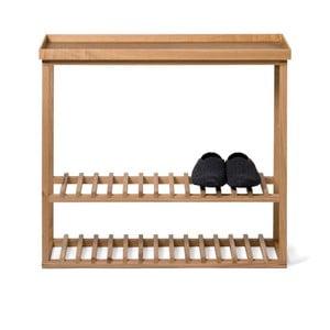 Skrinka na topánky/úložný stolík s prírodnou doskou Wireworks Hello Storage