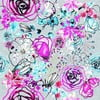 Obliečky Star Orchic Lila, 240x220 cm