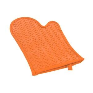 Oranžová silikónová rukavica Orion Orange, dĺžka 30 cm