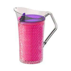 Ružový plastový džbán Asobu Iceberg Pitcher, 1,478 l