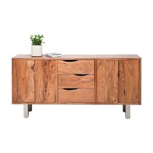 Komoda z akáciového dreva Kare Design Nature Line
