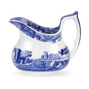 Bielo-modrá porcelánová kanvička na mlieko Spode Blue Italian, 2,2 l