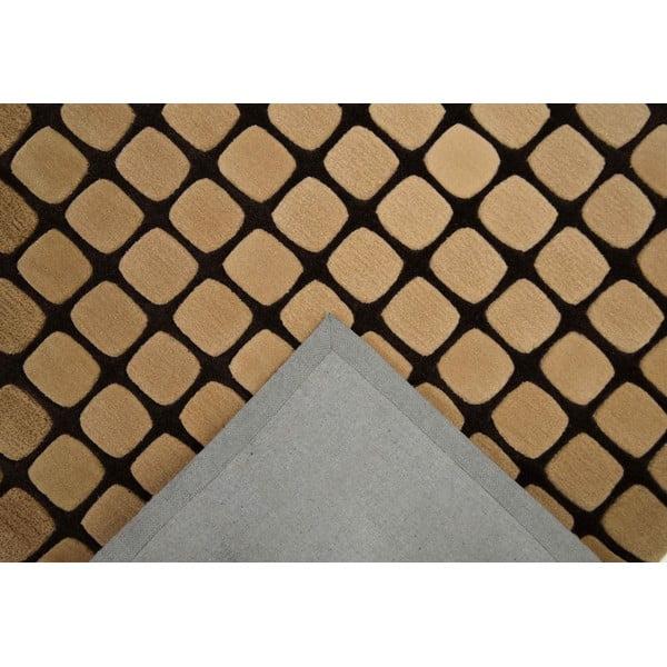 Koberec Bakero Casablanca Square 120x180 cm, mocca