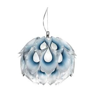 Stropné svetlo Flora Blue, 31 cm