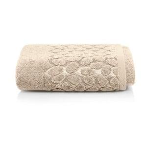 Hnedý bavlnený uterák Maison Carezza Ciampino, 50×90 cm