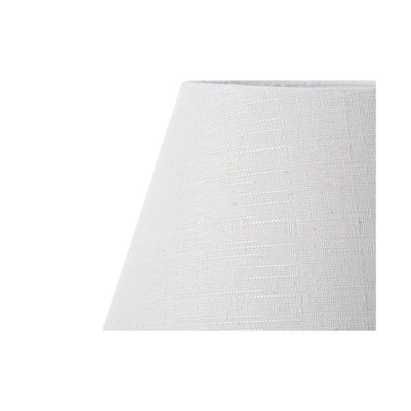 Biela stolová lampa Bolzonella