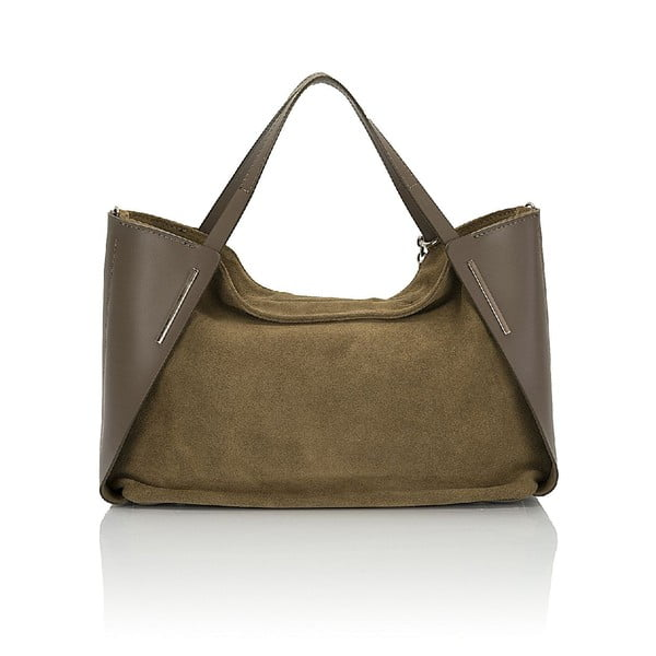 Kožená kabelka Giorgio Costa 15012-Fango