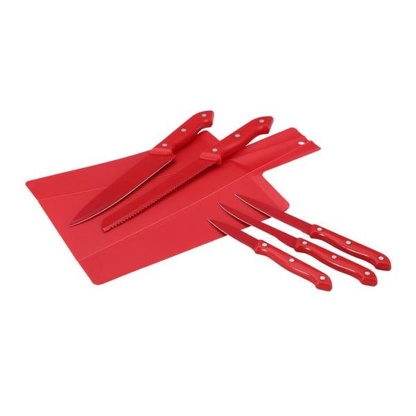 Set sklápacej doštičky a 5 nožov Renberg Cut