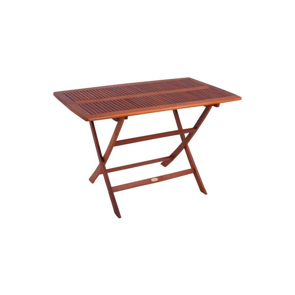 Záhradný skladací stôl z eukalyptového dreva ADDU Orlando