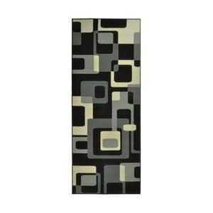Čierny koberec Hanse Home Hamla Retro, 80x150cm