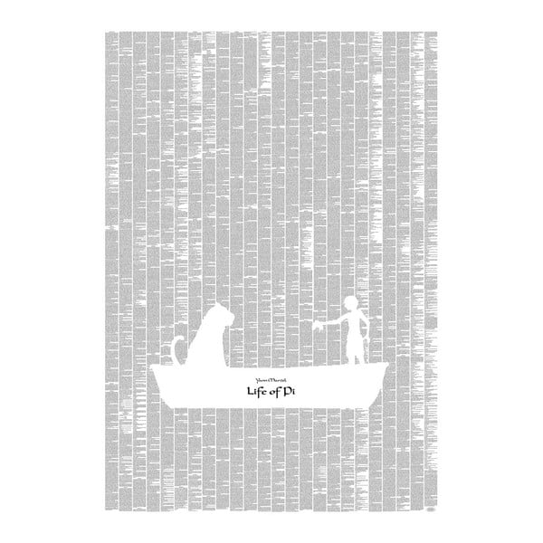 Knižný plagát Pí a jeho život, 70x100 cm