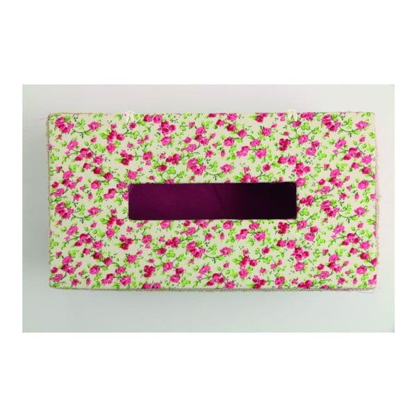 Krabička na vreckovky Flora Rossa