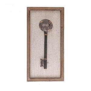 Nástenná dekorácia Key I, 20x40 cm
