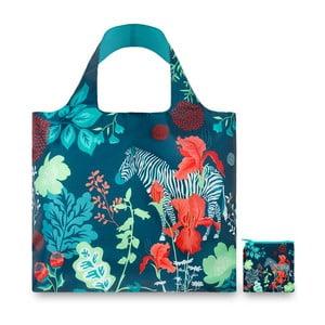 Skladacia nákupná taška Zebra