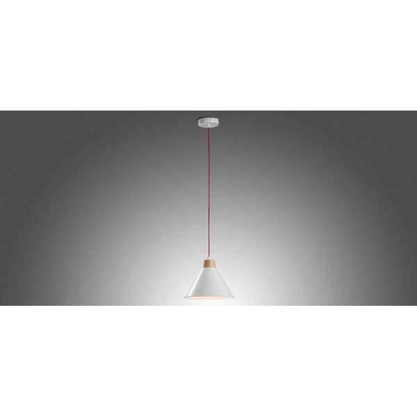 Biele závesné svetlo La Forma Bobs
