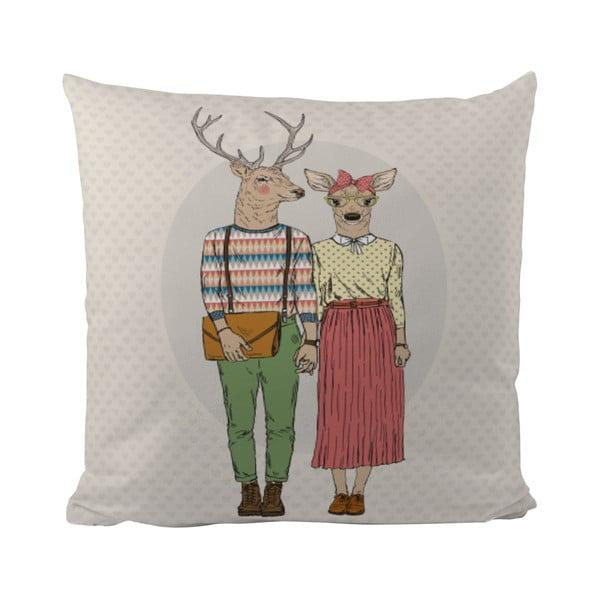 Vankúšik Butter Kings Deer Couple