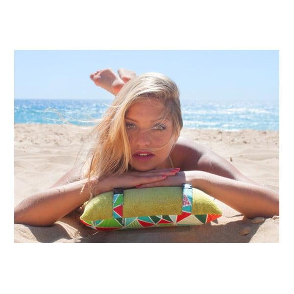 Plážový vankúšik Origama Olive Geo