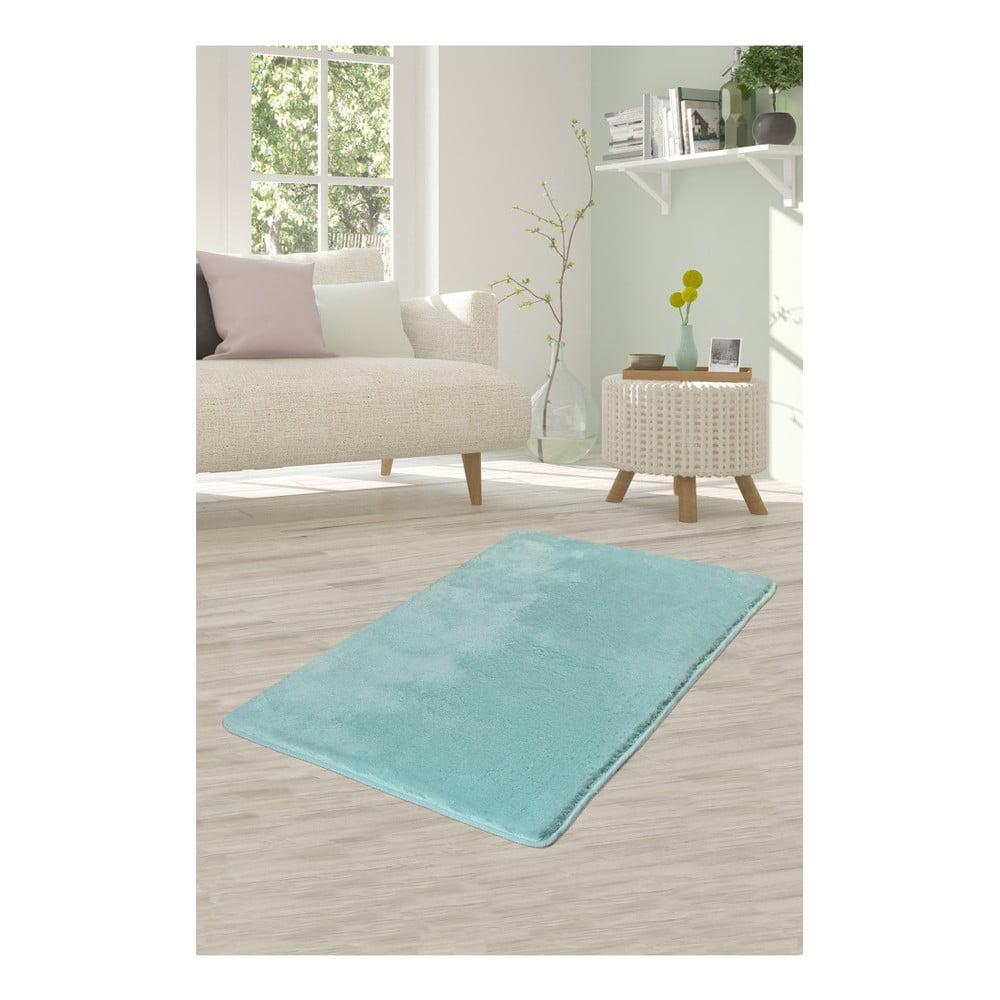 Svetlotyrkysový koberec Milano, 120 × 70 cm