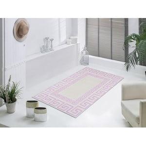 Staroružový odolný koberec Vitaus Versace, 80x150cm