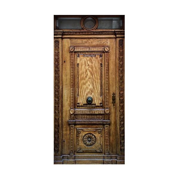 Tapeta na dvere v rolke Bimago Medieval Entrance, 80 x 210 cm