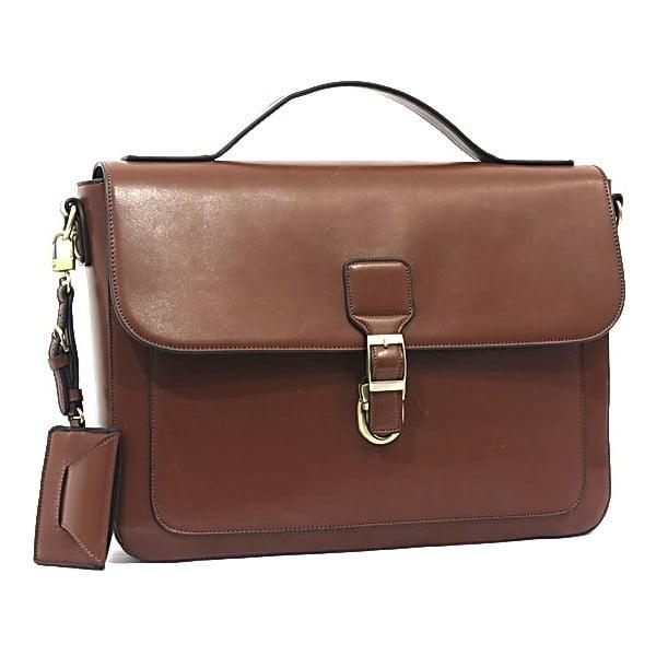 Elegantná taška cez rameno Bobby Black - Brown