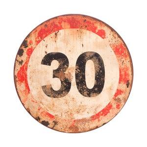 Nástenná ceduľa Antic Line Sign 30